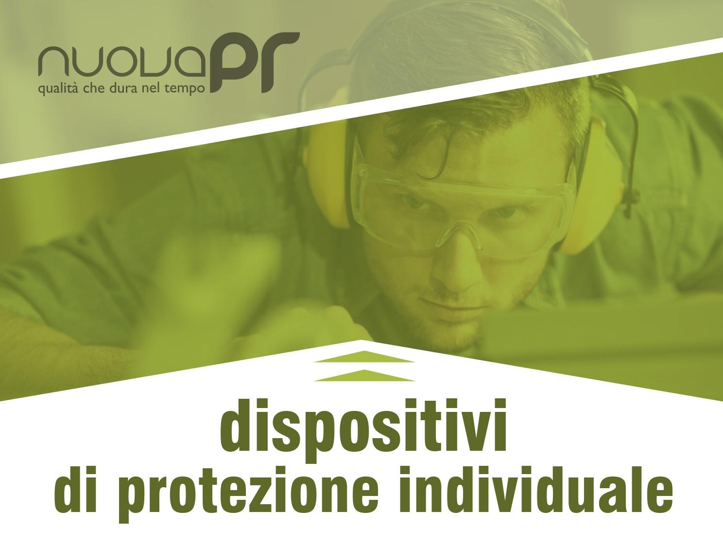 Dispositivi di Protezione Individuale guanti maschere cuffie